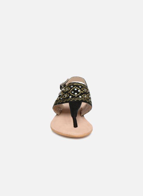 Sandales et nu-pieds Kaporal Moost Noir vue portées chaussures