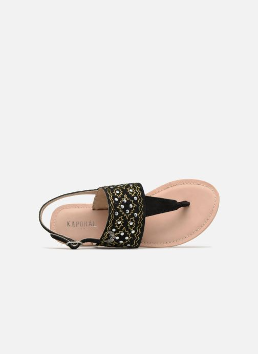 Sandales et nu-pieds Kaporal Moost Noir vue gauche