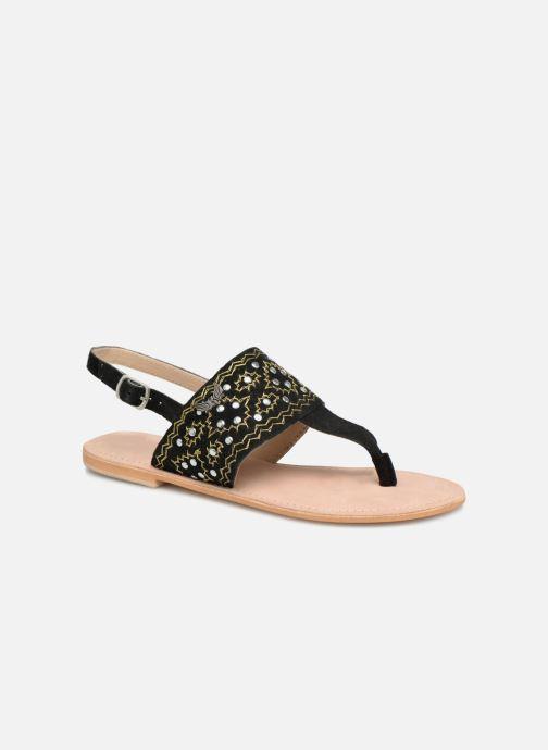 Sandales et nu-pieds Kaporal Moost Noir vue détail/paire