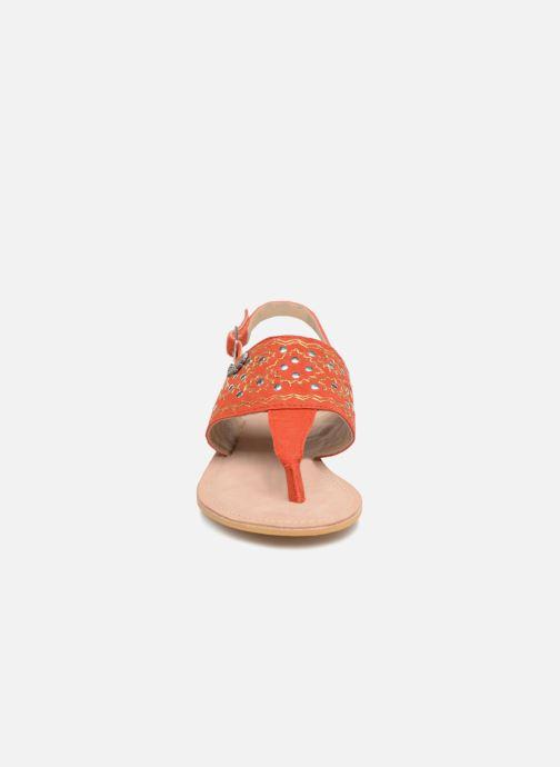 Sandalen Kaporal Moost orange schuhe getragen