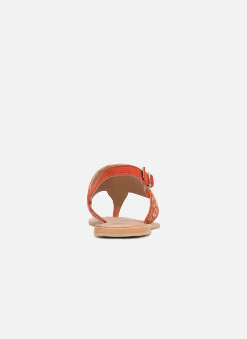 Sandalen Kaporal Moost orange ansicht von rechts