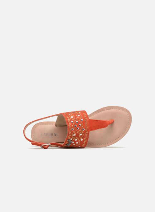 Sandals Kaporal Moost Orange view from the left
