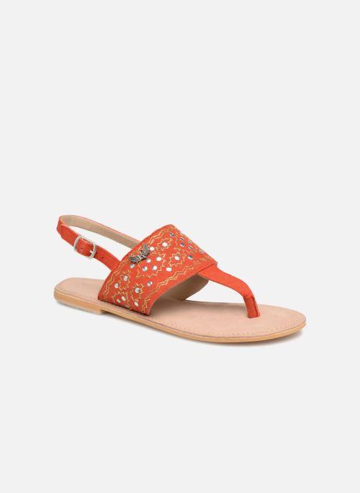 Sandales et nu-pieds Kaporal Moost Orange vue détail/paire