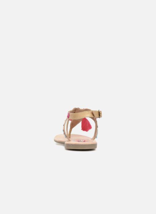 Sandalen Kaporal Naya rosa ansicht von rechts