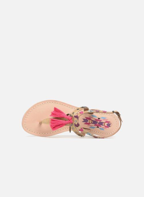 Sandalen Kaporal Naya rosa ansicht von links