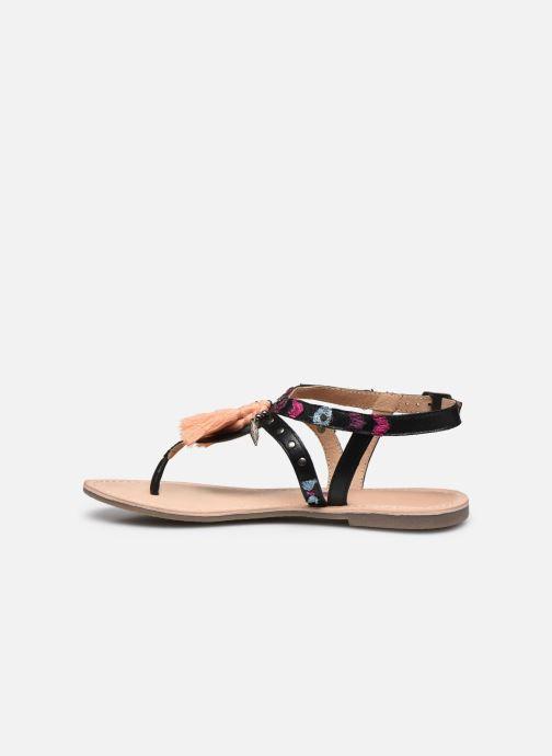Sandales et nu-pieds Kaporal Naya Noir vue face