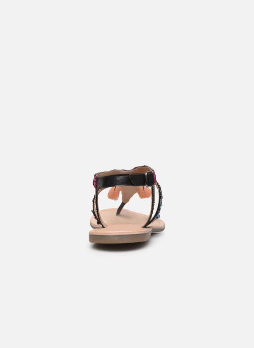 Sandales et nu-pieds Kaporal Naya Noir vue droite