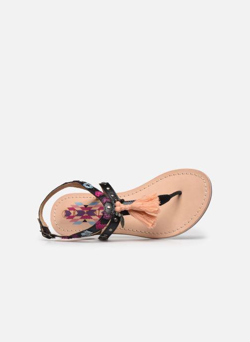 Sandales et nu-pieds Kaporal Naya Noir vue gauche