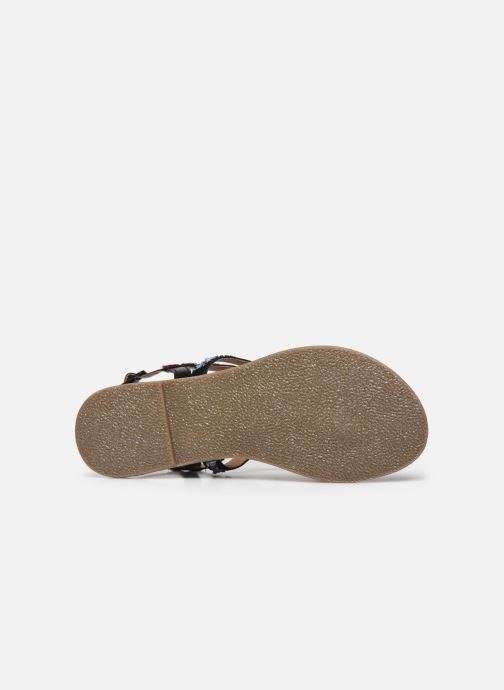 Sandales et nu-pieds Kaporal Naya Noir vue haut