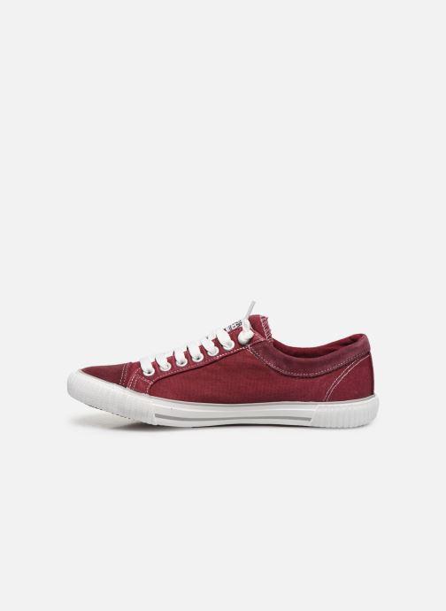 Sneakers Kaporal Odessa Rød se forfra