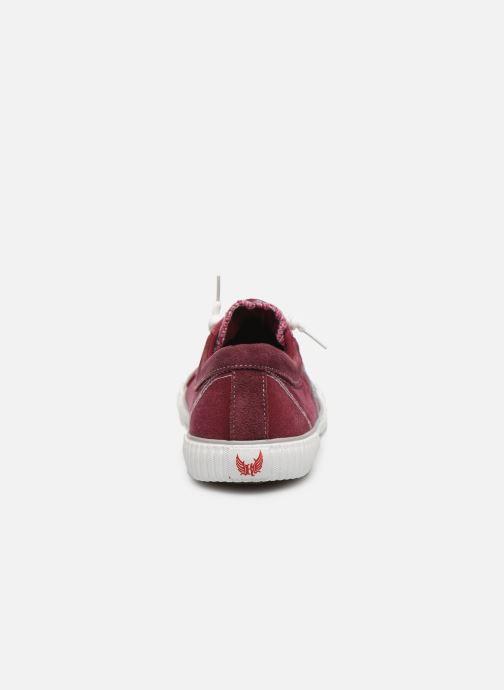 Sneakers Kaporal Odessa Rød Se fra højre