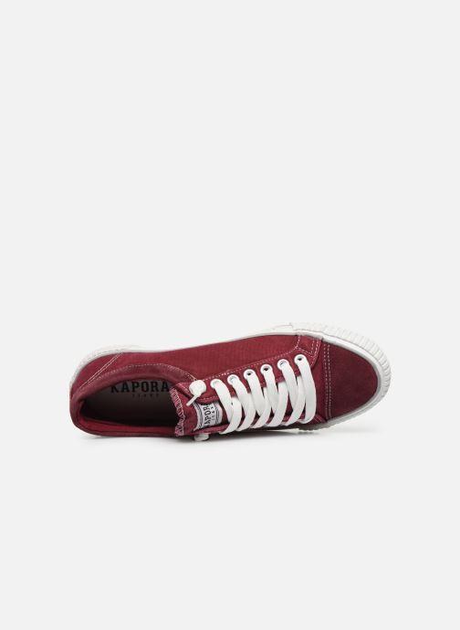 Sneakers Kaporal Odessa Rød se fra venstre