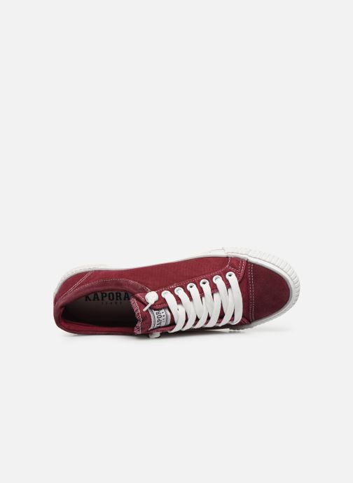 Sneakers Kaporal Odessa Rosso immagine sinistra