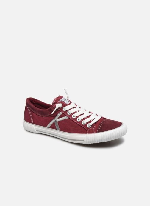 Sneakers Kaporal Odessa Rood detail