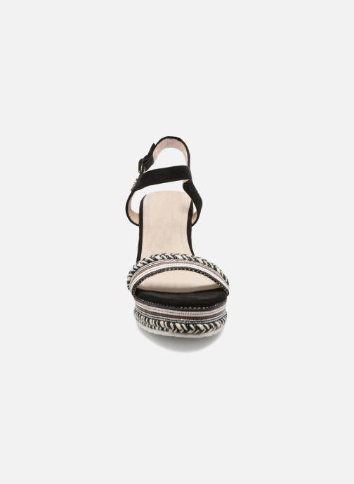 Sandalen Kaporal Slyde schwarz schuhe getragen