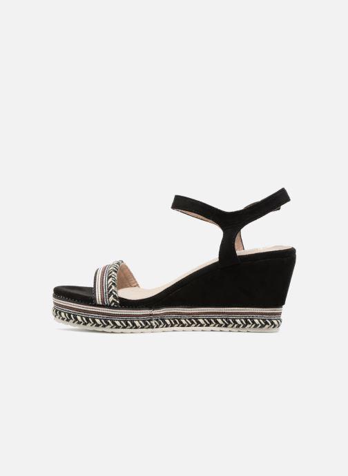 Sandales et nu-pieds Kaporal Slyde Noir vue face