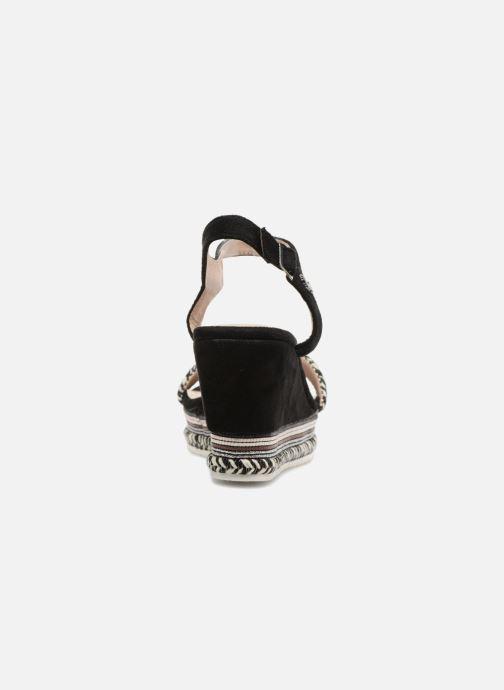 Sandales et nu-pieds Kaporal Slyde Noir vue droite