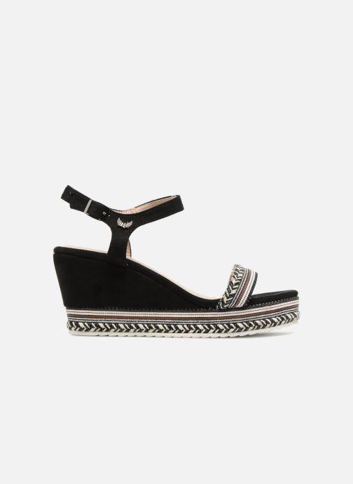 Sandales et nu-pieds Kaporal Slyde Noir vue derrière