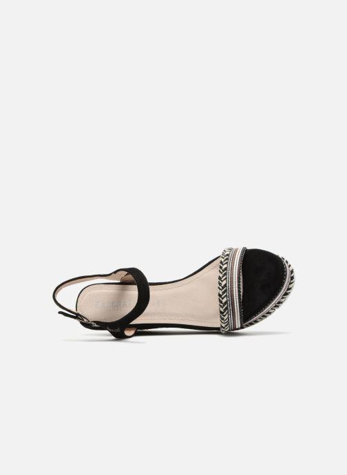 Sandales et nu-pieds Kaporal Slyde Noir vue gauche