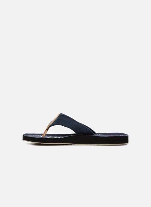 Flip flops Kaporal Taino Blue front view