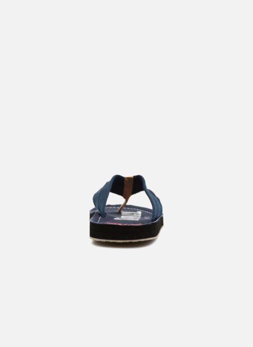 Flip flops Kaporal Taino Blue view from the right