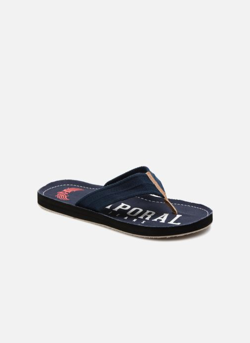 Flip flops Kaporal Taino Blue detailed view/ Pair view