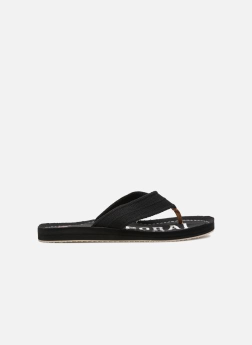 Flip flops Kaporal Taino Black back view