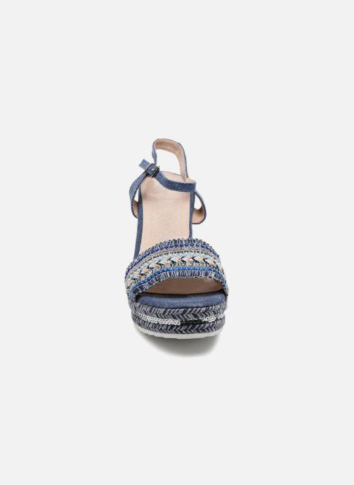 Sandales et nu-pieds Kaporal Tali Bleu vue portées chaussures