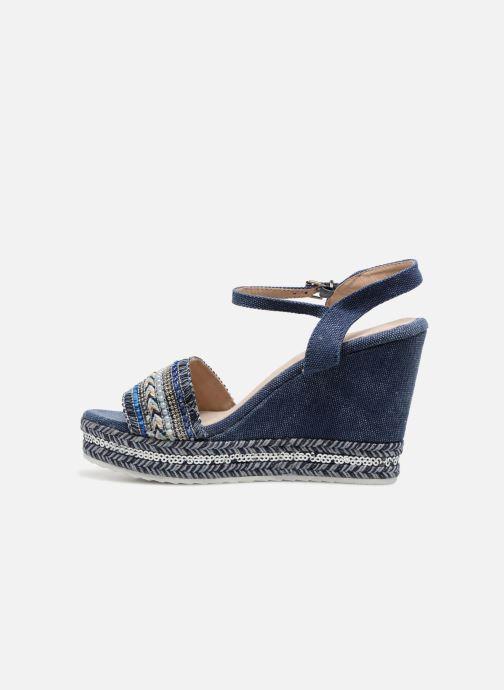 Sandales et nu-pieds Kaporal Tali Bleu vue face