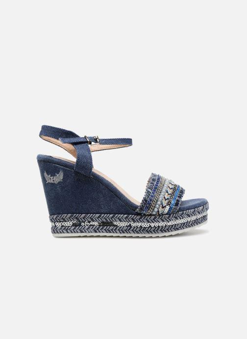 Sandales et nu-pieds Kaporal Tali Bleu vue derrière