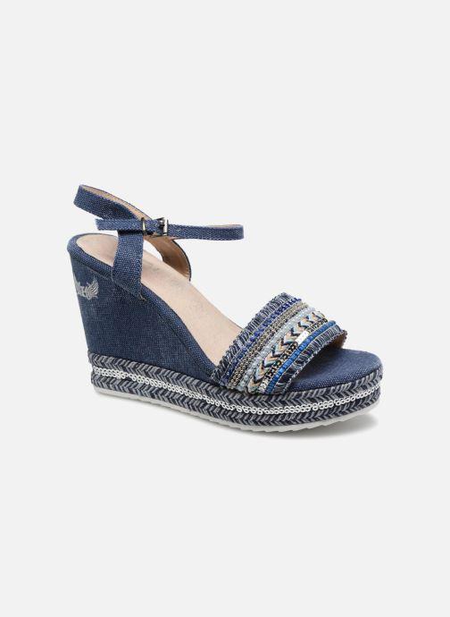 Sandales et nu-pieds Kaporal Tali Bleu vue détail/paire