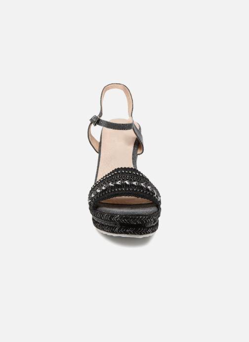 Sandalen Kaporal Tali schwarz schuhe getragen