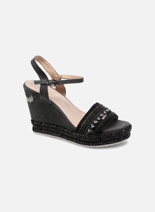 Sandalen Kaporal Tali schwarz detaillierte ansicht/modell