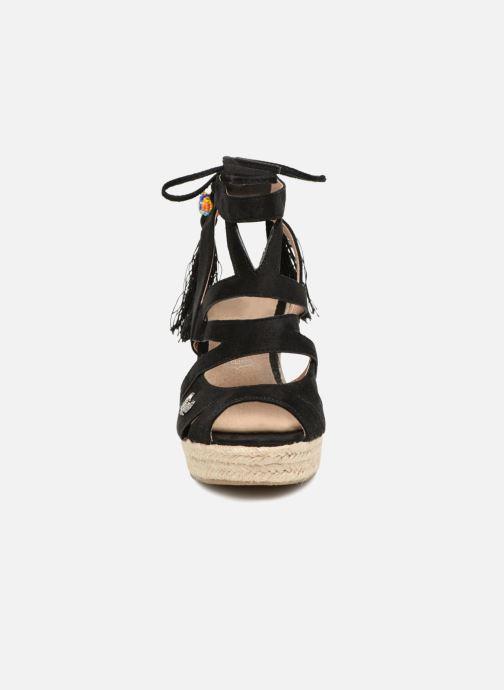 Sandales et nu-pieds Kaporal Tanao Noir vue portées chaussures