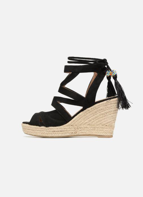 Sandales et nu-pieds Kaporal Tanao Noir vue face