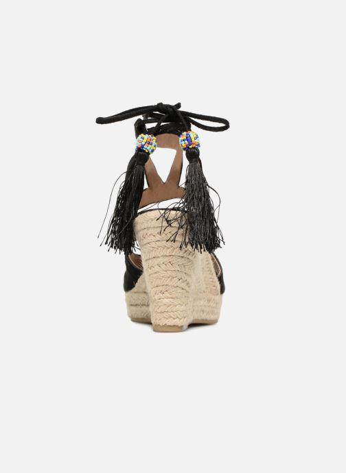 Sandales et nu-pieds Kaporal Tanao Noir vue droite