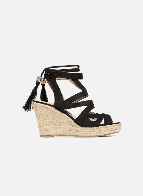 Sandales et nu-pieds Kaporal Tanao Noir vue derrière