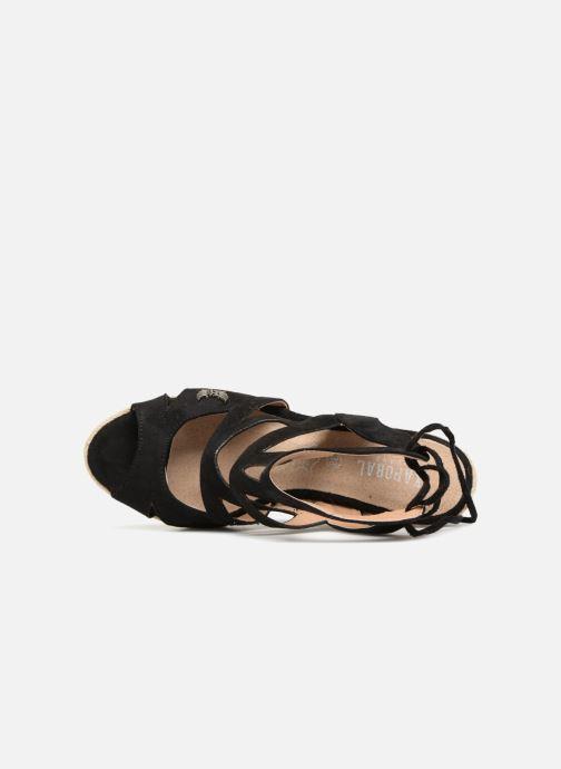 Sandales et nu-pieds Kaporal Tanao Noir vue gauche