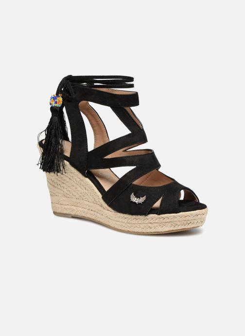 Sandales et nu-pieds Kaporal Tanao Noir vue détail/paire