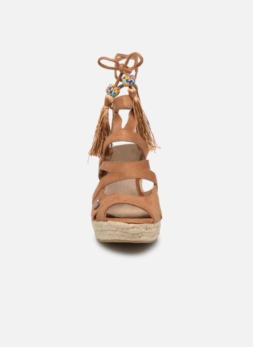 Sandales et nu-pieds Kaporal Tanao Marron vue portées chaussures