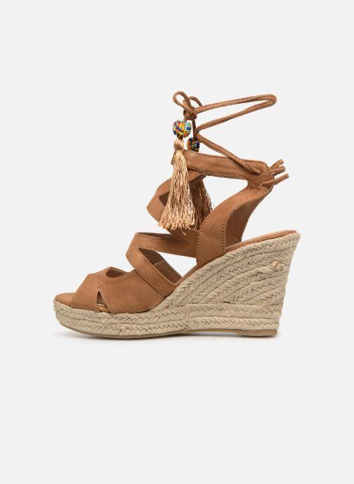 Sandales et nu-pieds Kaporal Tanao Marron vue face