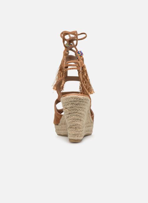 Sandales et nu-pieds Kaporal Tanao Marron vue droite