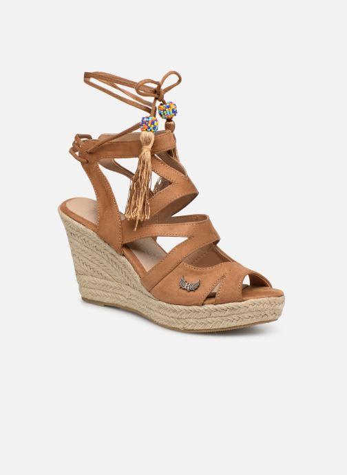 Sandales et nu-pieds Kaporal Tanao Marron vue détail/paire