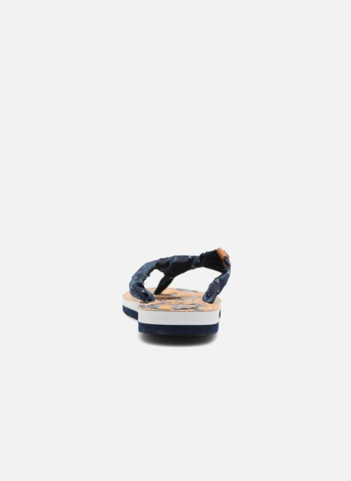 Flip flops Kaporal Takine Blue view from the right