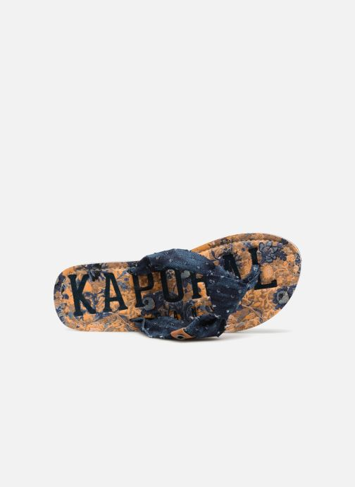Flip flops Kaporal Takine Blue view from the left