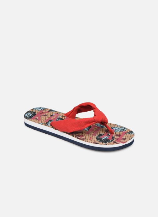 Flip flops Kaporal Takine Red detailed view/ Pair view