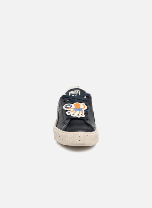 Baskets Puma PUMA X TC PLATFORM Noir vue portées chaussures