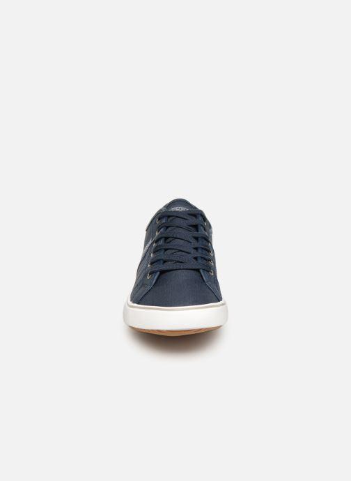 Baskets Kappa Calexi Bleu vue portées chaussures
