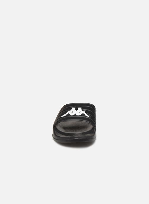 Sandales et nu-pieds Kappa Matese Noir vue portées chaussures