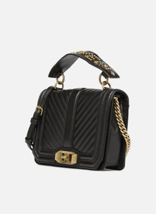 Handtassen Rebecca Minkoff Small Love Crossbody Zwart model